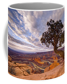 Coffee Mug featuring the photograph Dead Horse Point Sunrise by Dustin  LeFevre