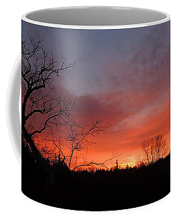Dead Tree Sunrise Coffee Mug