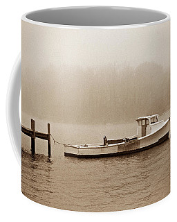 Deadrise Waiting Coffee Mug by Skip Willits
