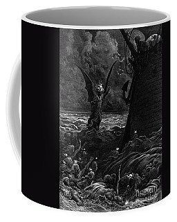 Death-fires Dancing Around The Becalmed Ship Coffee Mug
