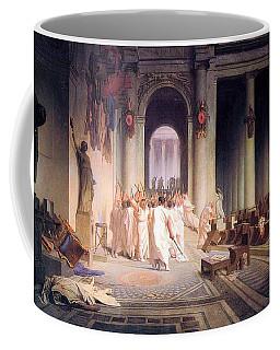Death Of Caesar Coffee Mug