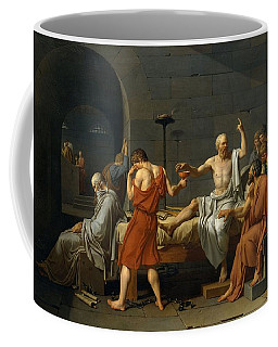 Death Of Socrates Coffee Mug
