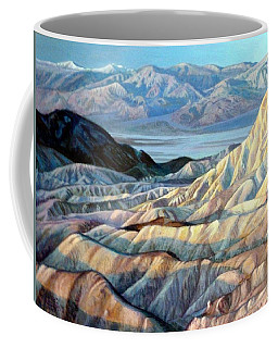 Death Valley From Dante's Point Coffee Mug