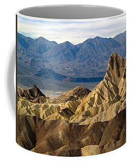 Death Valley Np Zabriskie Point 11 Coffee Mug