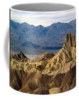 Death Valley Np Zabriskie Point 11 Coffee Mug by Jeff Brunton
