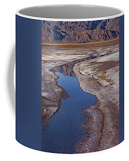 Death Valley Salt Stream 1 Coffee Mug