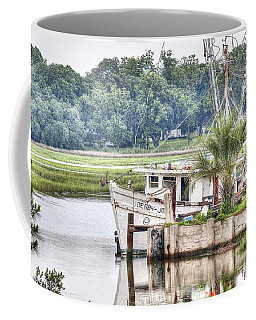 Debby John Shrimp Boat Coffee Mug