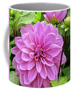 Decadent Dahlia   Coffee Mug by Elizabeth Dow