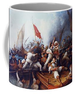 Decatur Boarding The Tripolitan Gunboat Coffee Mug