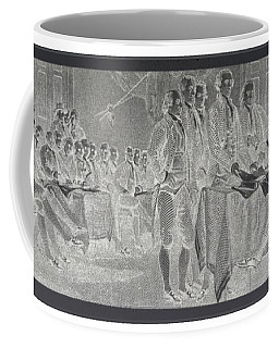 Declaration Of Independence In Negative Coffee Mug by Rob Hans