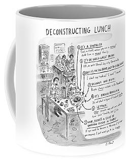 Deconstructing Lunch Coffee Mug