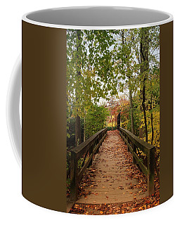 Decorate With Leaves - Holmdel Park Coffee Mug