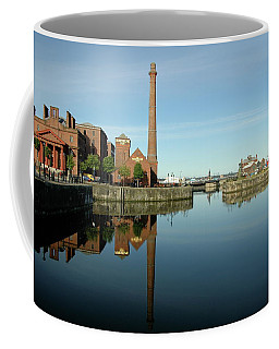 Coffee Mug featuring the photograph Deep Blue Reflections by Jonah  Anderson