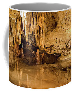 Deep In The Cave Coffee Mug by Jonah  Anderson