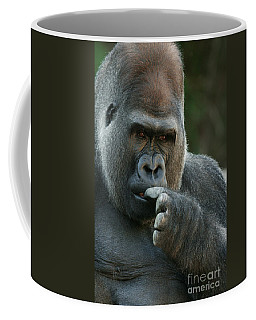 Deep In Thought Coffee Mug by Judy Whitton