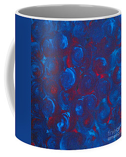 Coffee Mug featuring the painting Deep by Jacqueline McReynolds