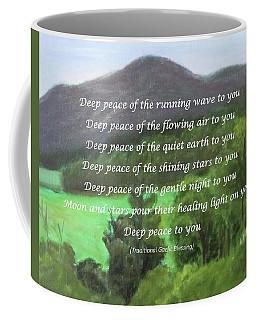 Deep Peace With Ct River Valley Coffee Mug