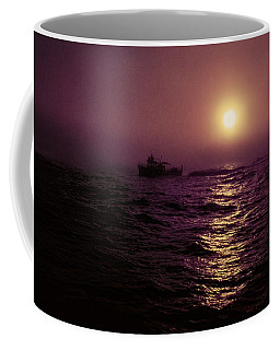 Deep Sea Fishing Off West Port Wa II Coffee Mug