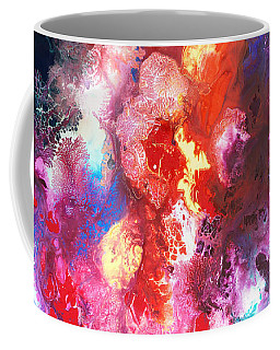 Deep Water Coral Coffee Mug