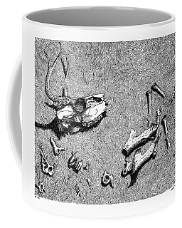 Deer Bones Coffee Mug