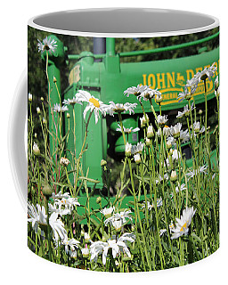 Coffee Mug featuring the photograph Deere 1 by Lynn Sprowl