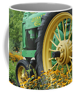 Coffee Mug featuring the photograph Deere 2 by Lynn Sprowl