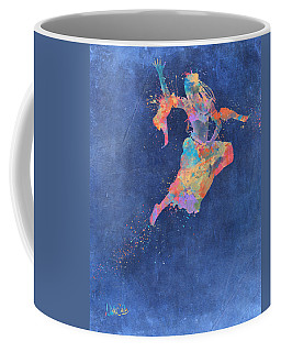 Defy Gravity Dancers Leap Coffee Mug