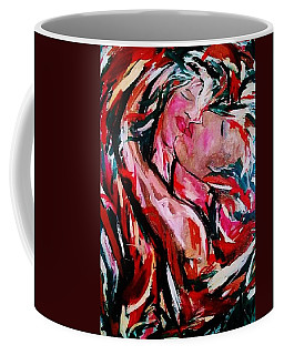 Coffee Mug featuring the painting Defying Claudius by Dawn Fisher