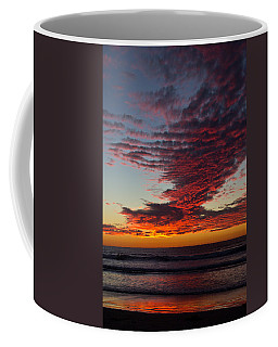 Coffee Mug featuring the photograph Del Mar Sunset 16 by Randy Bayne