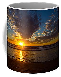 Coffee Mug featuring the photograph Del Mar Sunset 7 by Randy Bayne