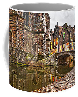 Delft Behind The Church Coffee Mug