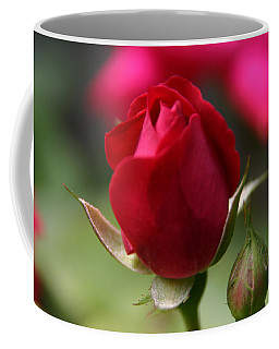 Coffee Mug featuring the photograph Delicate Opening  by Denyse Duhaime