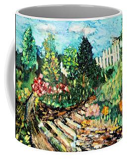 Delphi Garden Coffee Mug
