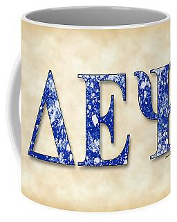 Delta Epsilon Psi - Parchment Coffee Mug