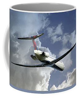 Delta Jet Coffee Mug by Brian Wallace