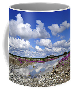 Coffee Mug featuring the photograph Delta Junction Summer by Cathy Mahnke