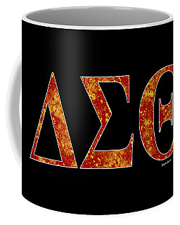 Delta Sigma Theta - Black Coffee Mug