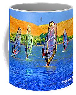 Delta Water Wings Coffee Mug