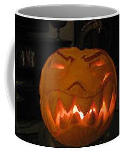 Demented Mister Ullman Pumpkin 2 Coffee Mug
