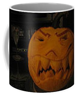 Demented Mister Ullman Pumpkin 3 Coffee Mug
