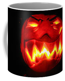 Demented Mister Ullman Pumpkin Coffee Mug