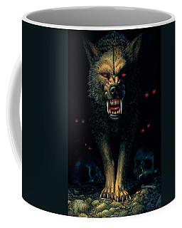 Demon Wolf Coffee Mug
