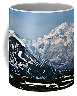 Coffee Mug featuring the photograph Denali National Park Panorama by John Haldane