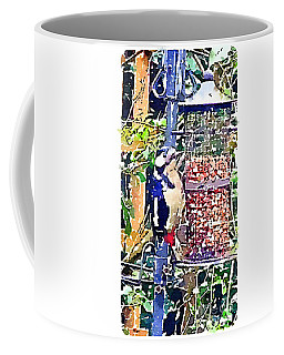 Dendrocopos Major 'great Spotted Woodpecker' Coffee Mug
