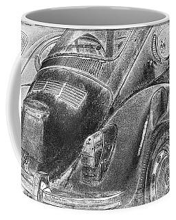 Coffee Mug featuring the photograph Dented Ego by Jean OKeeffe Macro Abundance Art