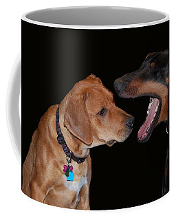 Coffee Mug featuring the photograph Dentist by Mim White