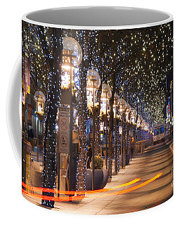 Denver's 16th Street Mall At Christmas Coffee Mug