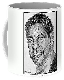 Denzel Washington In 2009 Coffee Mug
