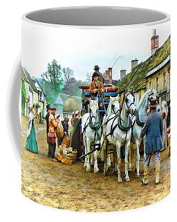 Departing Cranford Coffee Mug