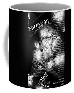Depression Erodes My Mind Coffee Mug